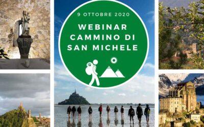 Webinar Cammino di S.Michele: un'opportunità da cogliere/ Séminaire en ligne Réseau de Saint-Michel/Seminari virtual Camin de Sant Miquel