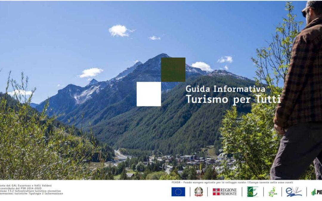 Guida informativa sul Turismo per Tutti: disponibile la versione cartacea